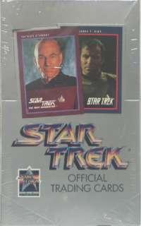 Impel Star Trek Official Trading Cards Series I Box