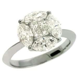 S. Kashi & Sons D3862WG White Gold Diamond Ring   14KW
