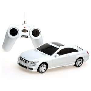 Mercedes Benz CL63AMG Silver color Radio Remote Control Car Toys