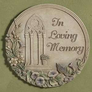 In Loving Memory Stepping Stone: Patio, Lawn & Garden
