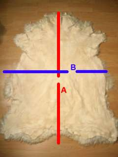 Turkish Goat Skin Rug Fur Pelt Natural Figure 43x33 will see the S