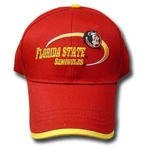NCAA FLORIDA STATE SEMINOLES COTTON CAP HAT MAROON NEW