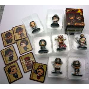 Kotobukiya One Coin Indiana Jones Figures   COMPLETE SET