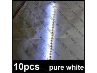 10pcs Brand New 24 LED Strip Car Auto Flexible Strip Grill Bulb Light