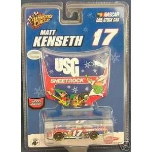 Matt Kenseth #17 2007 Winners Circle 1/64 Scale Car #17 Matt Kenseth