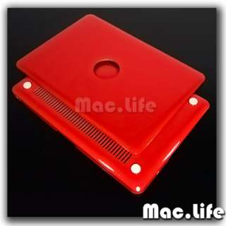RED METALLIC Crystal Hard Case Cover for Macbook PRO 15