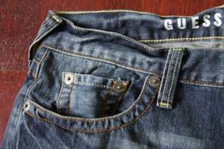 NWT GUESS Denim REBEL low rise straight mens jeans