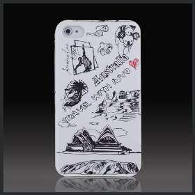 Australia Sydney Koala Bear White hard case cover for Apple iPhone 4