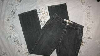 NEW Womens Black GAP Low Rise Boot Cut Jeans, Sz 6