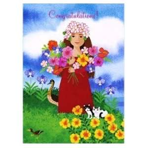 Hawaiian Congratulations Card Makana: Kitchen & Dining