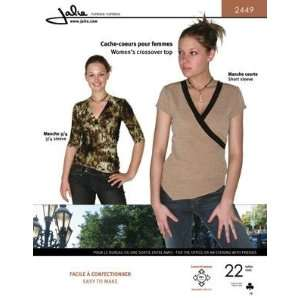 Jalie Crossover Shirt Pattern By The Each Arts, Crafts