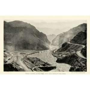 1921 Print Khyber Pass Jangi Gorge Afghanistan Asian Trade