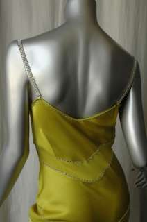 JOHN GALLIANO Crystal+SATIN Formal Long Gown Dress 4