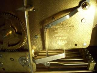 Vtg LINDEN 341 020 Clock w/Key CUCKOO CLOCK MFGER CO W GERMANY