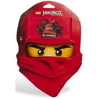 Lego Ninjago Kai Red Ninja Face Boys T shirt: Clothing