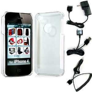Snap On Crystal Protective Hard Case for Apple iPhone 4S