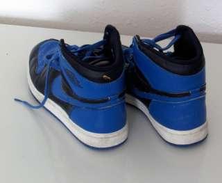 Original Vintage 1985 Nike Air Jordan 1 High Top Basketball Shoes Blue