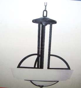 Commercial Electric Levanto 3 Light 60 in. Hanging Bronze Pendant