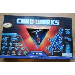 Card Works Ultimate Custom Building System Toys & Games