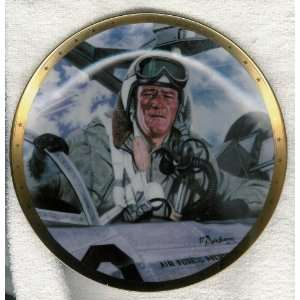 John Wayne Plate Tribute to Jet Pilots Everything Else