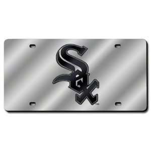 Chicago White Sox License Plate Laser Tag