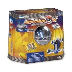Mega Bloks Spheron Car and Launcher   Blue Toys & Games