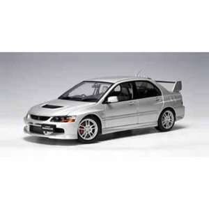 Mitsubishi Lancer EVO IX GSR 1/18 Silver Toys & Games