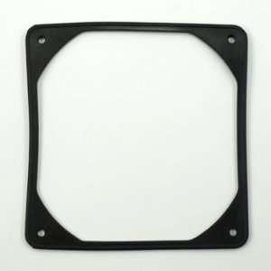 Lamptron 140mm Anti Vibration Rubber Fan Gasket   Black