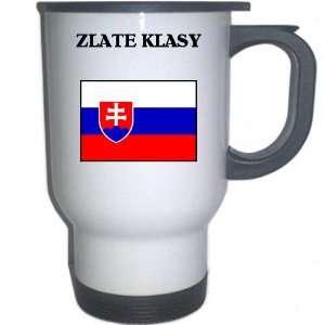 Slovakia   ZLATE KLASY White Stainless Steel Mug