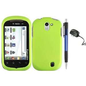 Neon Green Premium Design Protector Hard Case Cover for LG