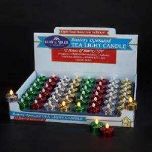 Battery Operated Flicker LED Tea Lite Candle Furniture