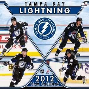 Tampa Bay Lightning 2012 Team Wall Calendar Sports