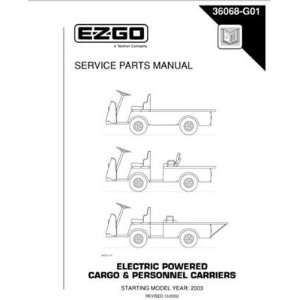 GO Electric Powered Cargo and Personnel Carriers Patio, Lawn & Garden