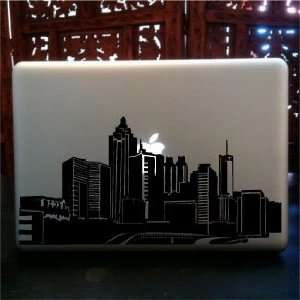 Atlanta skyline laptop skin vinyl decal