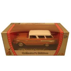 1957 Chevrolet Nomad Brown 1/43 Diecast Car Model Toys