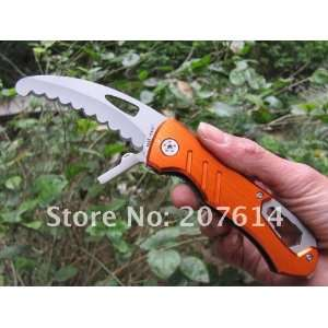 multi function saw blade floding knife camping knife with screwdriver