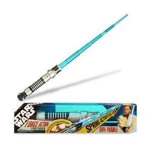 Star Wars Extending Lightsaber Obi Wan Kenobi  Toys & Games