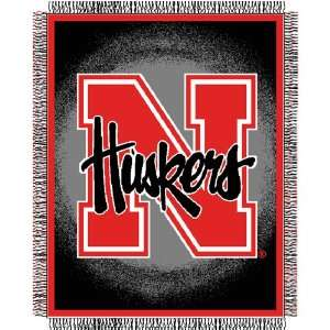 University of Nebraska Cornhuskers Throw   Triple Woven