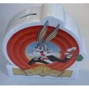 Looney Tunes Ceramic Bugs Bunny Vintage Bank Everything