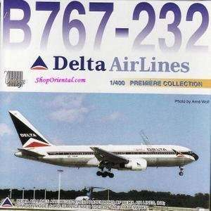 Dragon Wings 55311 Delta Airlines B767 232 1/400 model