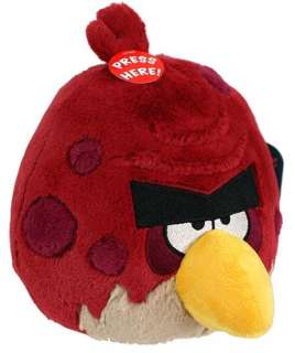 Angry Birds 5 Plush Red Big Brother With Sound *New*