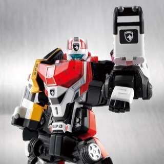 CHOGOKIN DIECAST Super Robot Power Rangers SPD Deka Ranger Robo ACTION