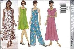 UNCUT Butterick Pattern Misses Dress Jumpsuit 4558 SEW
