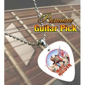 Iron Maiden The Trooper Premium Guitar Pick Necklace