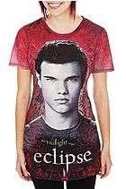 New Twilight Saga Eclipse Jacob Sublimation junior girls tee t shirt