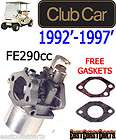 Club Car DS 1992 1997 Golf Cart Carburetor 290cc 1016478 (FREE
