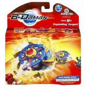 B Daman Target Challenge: Blaster Exploding Puck: Toys & Games