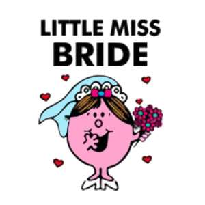 LITTLE MISS BRIDE T SHIRT IRON ON TRANSFER 3 SIZES