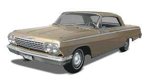 Revell Model Kit # 4246 1/25 1962 Chevy Impala Hardtop