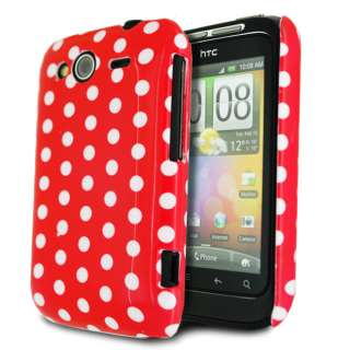 Stylish Polka Dots Series Ultra Thin IMD Hard Shell Mobile Phone Case